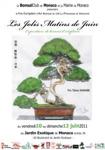 jolis matins de juin 2011 - bonsai à monaco