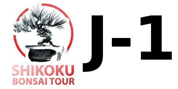 J-1 avant le voyage à Shikoku