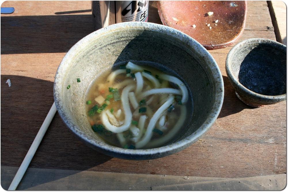 nouilles udon - cuisine japonaise