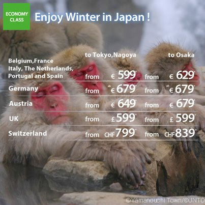 all nippon airways promotion hiver