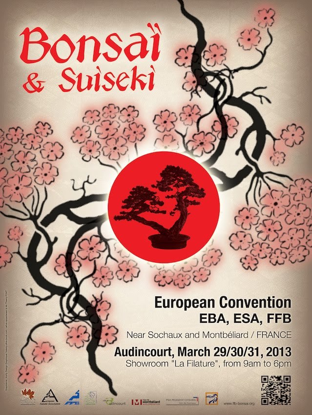 EUROPEAN BONSAI CONVENTION, EBA, ESA, FFB