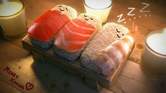 bonne nuit les sushi