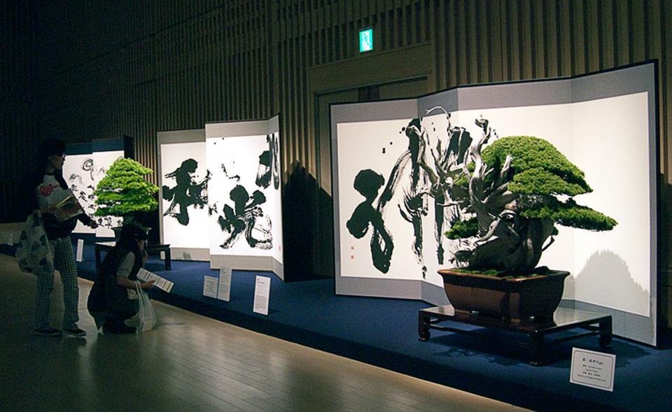 bonsai et calligraphie - aspac 2011 - 02