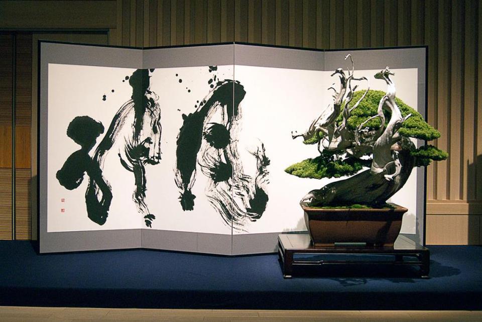 bonsai et calligraphie - aspac 2011 - 05