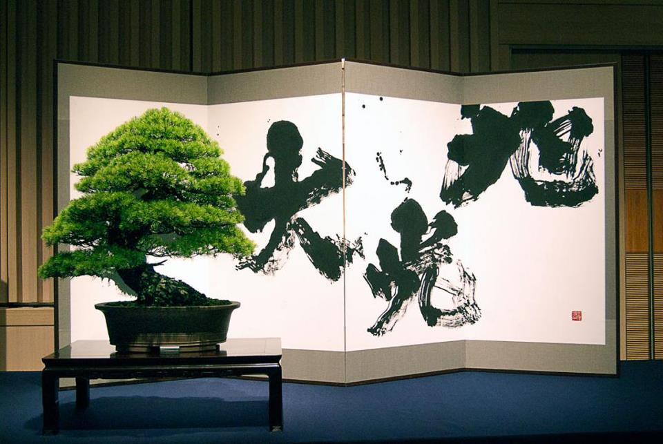 bonsai et calligraphie - aspac 2011 - 06