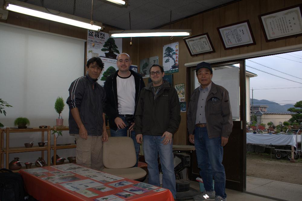 kiyoshi hiramatsu - seijuen kinashi bonsai 2011