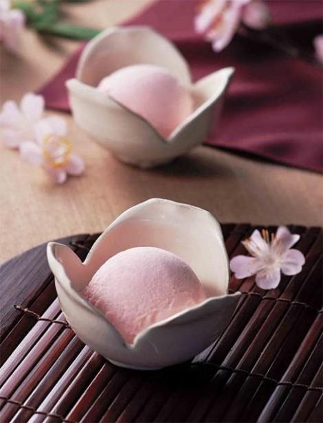 glaces saveur sakura