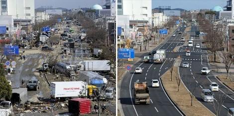 reconstruction en 2013 au japon après le 11 mars - 2