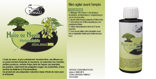 huile de neem pour le traitement naturel des parasites