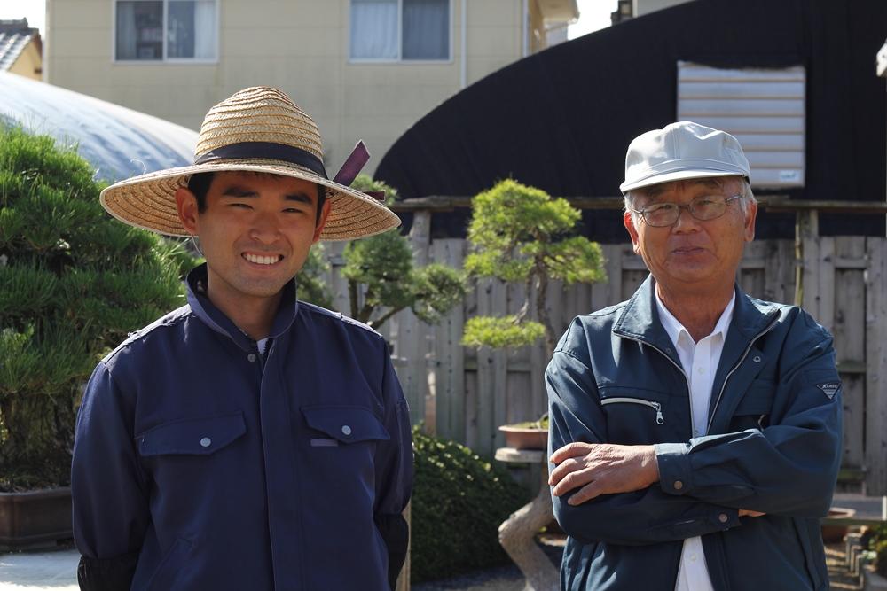 Kohe Kandaka (mon guide à Kinashi) et Mr Nakanishi