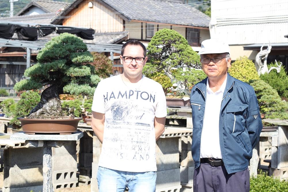 Mr Nakanishi et moi même
