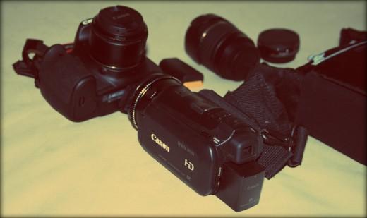 appareil photo et caméra canon