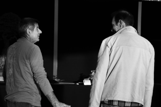 discussion entre jean françois busquet et françois gau