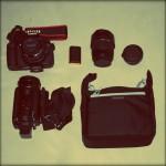 J-10 : préparation du matériel photo et vidéo pour le Japon