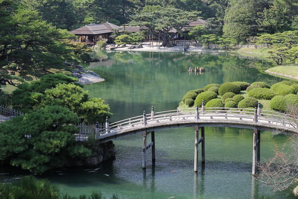 J7 visite au parc ritsurin shikoku tokyo 2013 for Parc a visiter