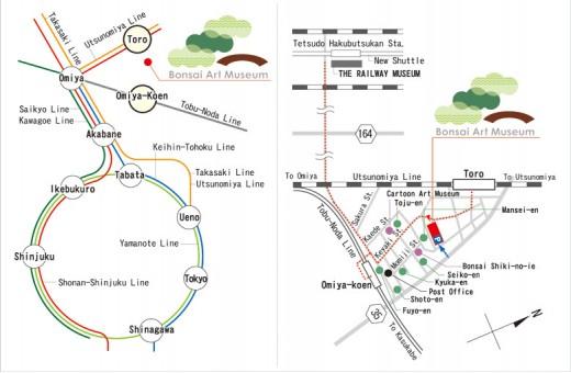 accès à Omiya depuis tokyo en train