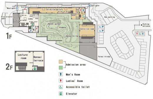 plan du musée d'omiya