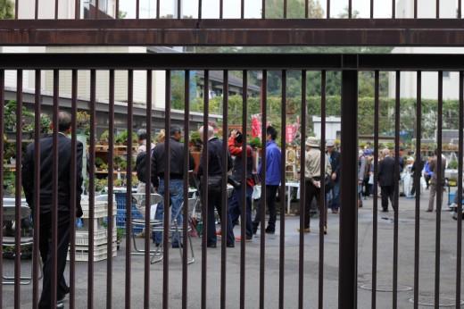 vue de l'extérieur du marché des professionnels au ueno green club