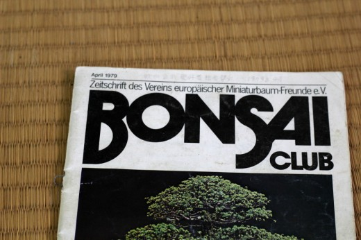 BONSAI CLUB magazine - avril 1979