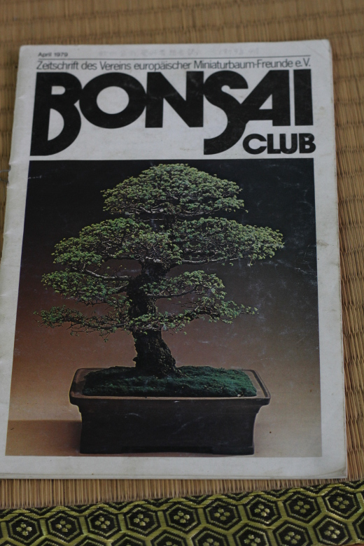 couverture bonsai club avril 1979