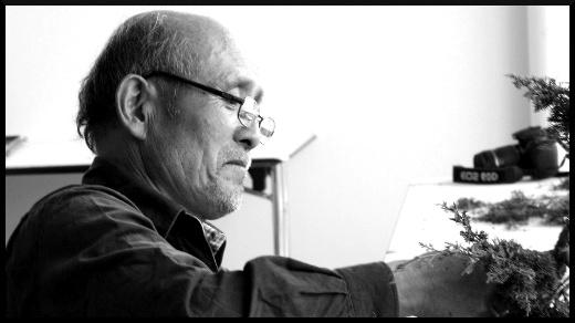 ateliers de bonsaï avec Takeao Kawabe à Monaco