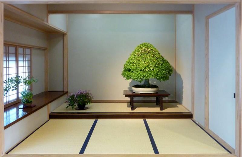présentation dans le tokonoma gyo