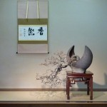 présentation en tokonoma gyo - prunus mume