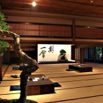 Ambiance traditionnelle pour une exposition à Takamatsu