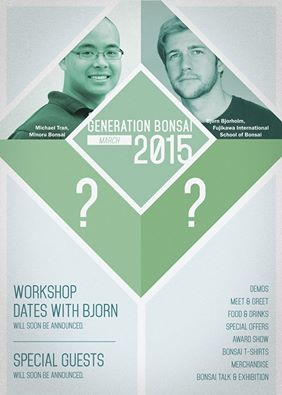 affiche bonsai generation 2015