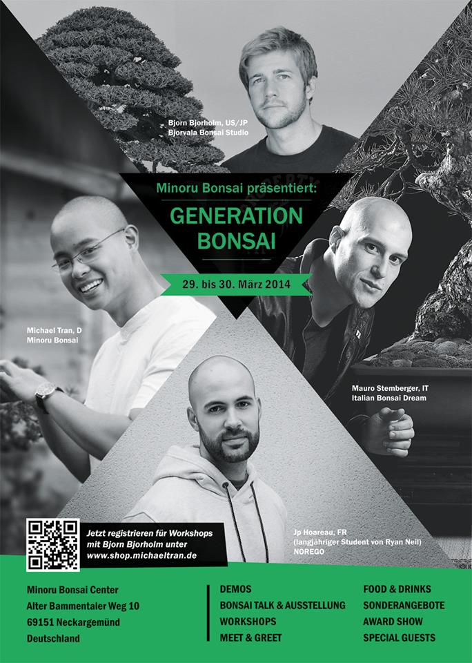 affiche generation bonsai 2014