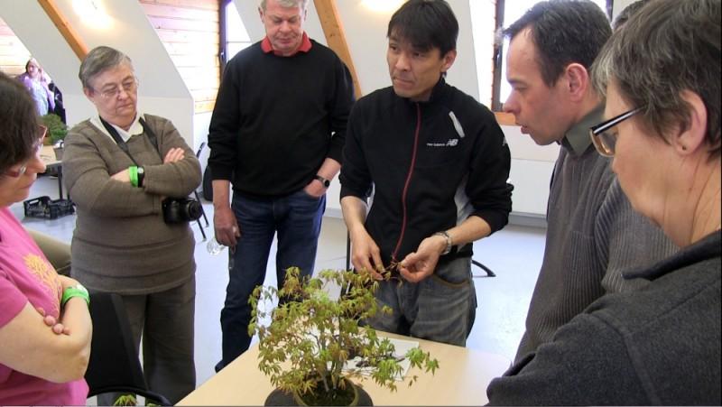 atelier avec Koji Hiramatsu