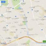 carte omiya station à Kawabe