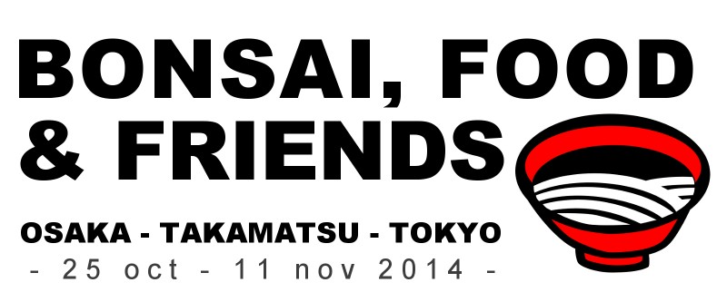 bonsai food and friends voyage actubonsai 2014