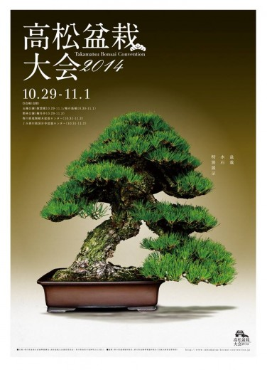 calendrier des animations à la takamatsu bonsai convention 2014