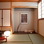 Hotel traditionnel avec tokonoma à Osaka