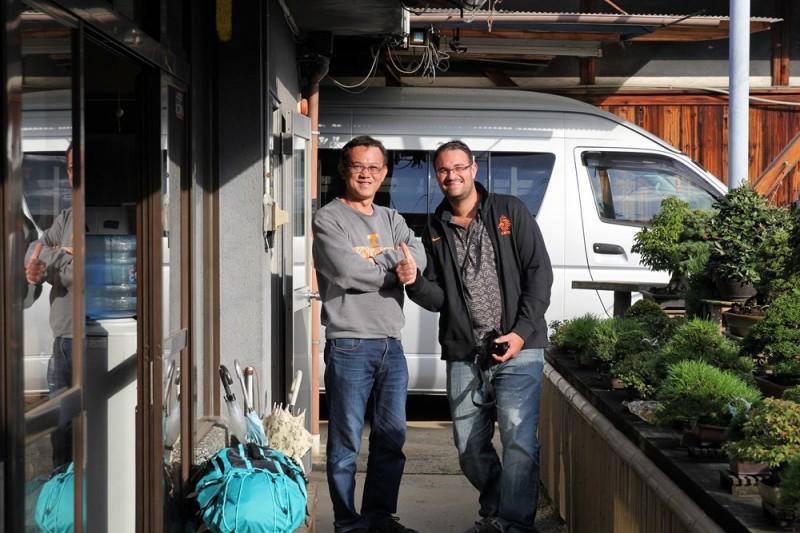 Mr Fujikawa et Alexandre Escudero