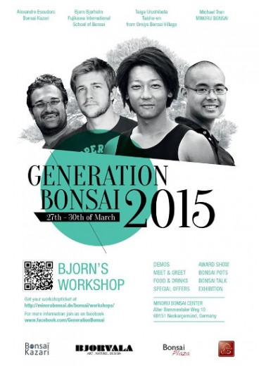 affiche generation bonsai 2015